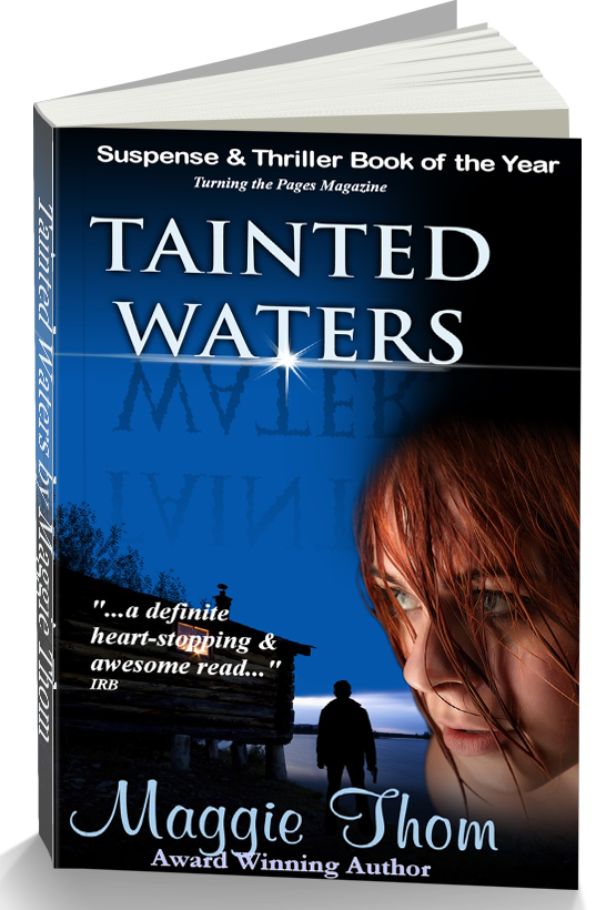 Tainted Waters paperback cover