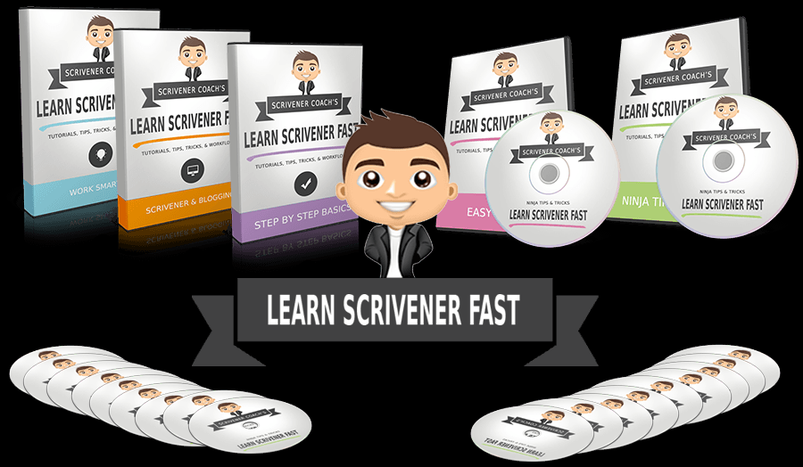 Learn scrivener fast cds