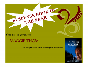 Book of the Year - 2014 - Turning the Pages - Suspense