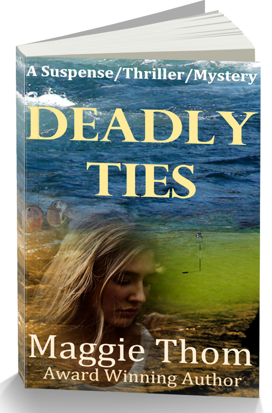 Deadly Ties paperback 2