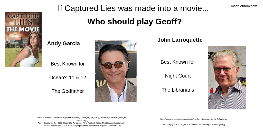 If Captured Lies were a Movie, Who'd Play Geoff?