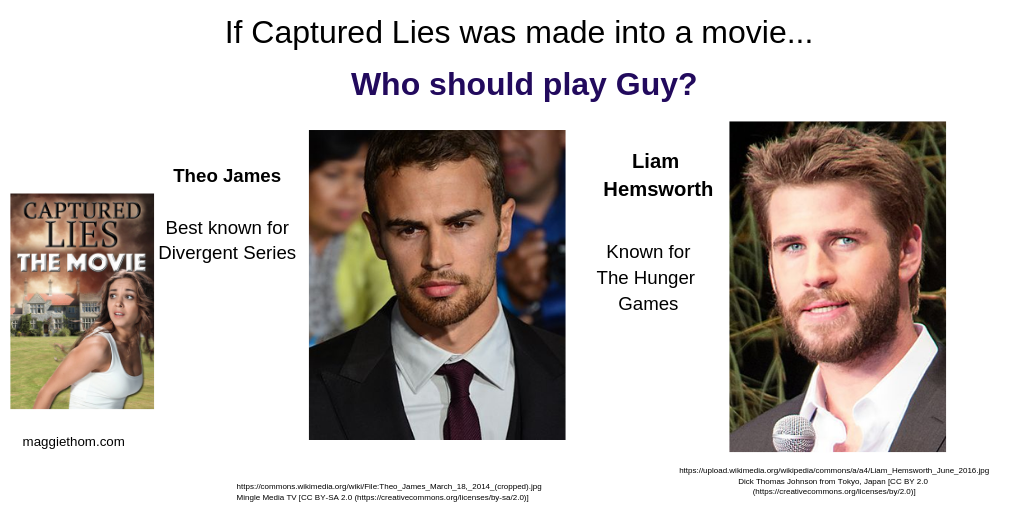 If Captured Lies were a Movie, Who'd Play Guy?