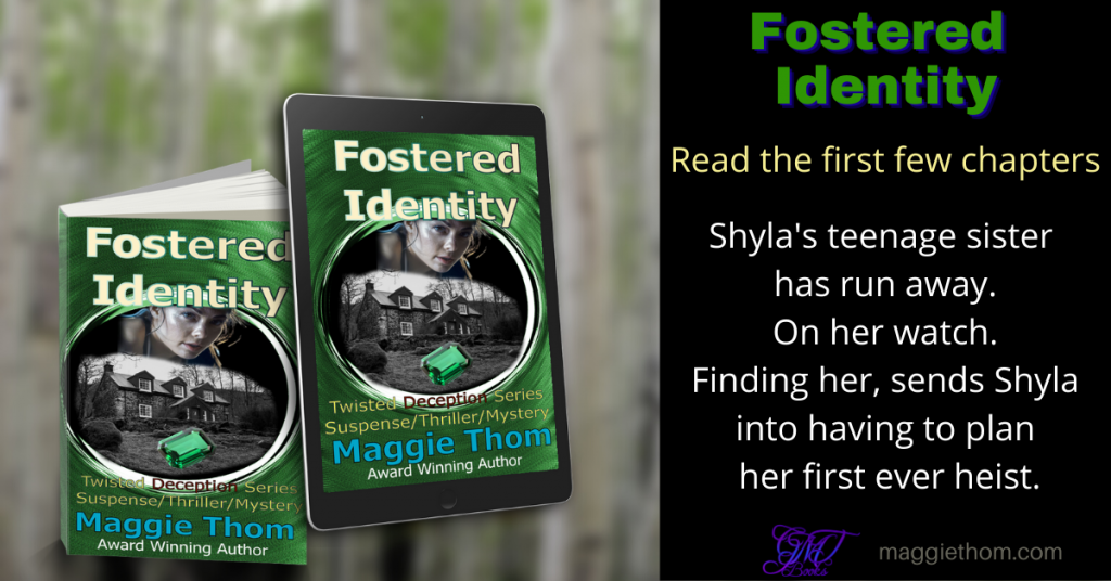 Fostered Identity suspense thriller read the first few chapters